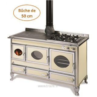 C cuisiniere a bois bouilleur traini for Cuisiniere a bois