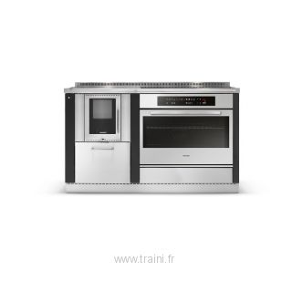CUISINIERE A BOIS MIXTE OKOALPIN 60+80 PERTINGER - 6 kW