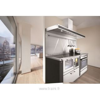 CUISINIERE A BOIS MIXTE OKOALPIN 90+65 PERTINGER - 8 kW