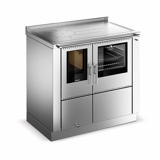 cuisiniere a bois okoalpin 90 plus bouilleur pertinger 22 kw traini. Black Bedroom Furniture Sets. Home Design Ideas