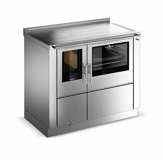 cuisiniere a bois bouilleur okoalpin 100 plus pertinger 23 kw traini. Black Bedroom Furniture Sets. Home Design Ideas