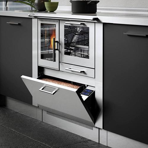 cuisiniere a granules 90 pertinger 9 kw traini. Black Bedroom Furniture Sets. Home Design Ideas